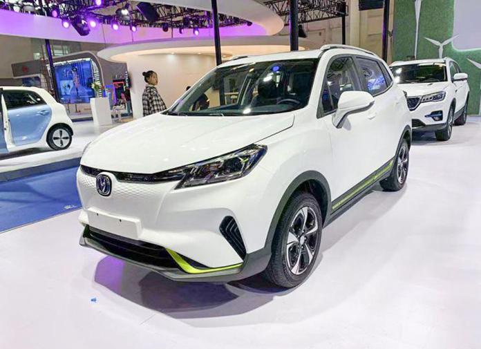 Changan CS15 E-Pro Decuted at IEEVCHINA 2019_展览会
