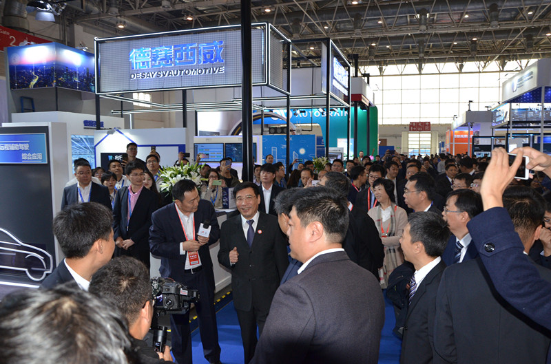 2019WICV | Desay SV ---New Technologies at IEEVCHINA2019_展览会